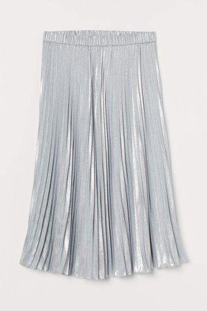 Shimmery Skirt - Gray