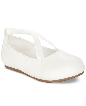 First Impressions Baby Girls Criss-Cross Ballet Flats, Created for Macy's & Reviews - All Kids' Shoes - Kids - Macy's