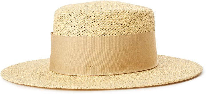 Dara Straw Boater Hat