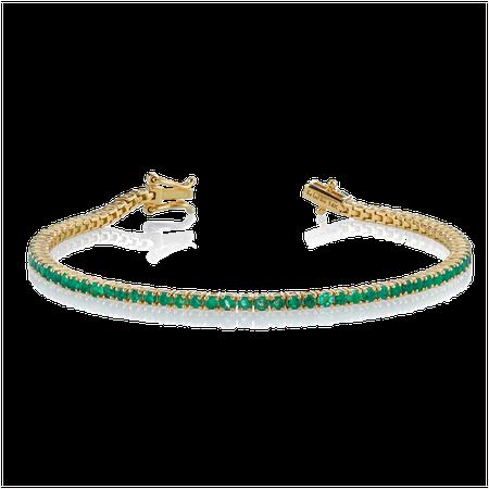 Perfect Emerald Tennis Bracelet