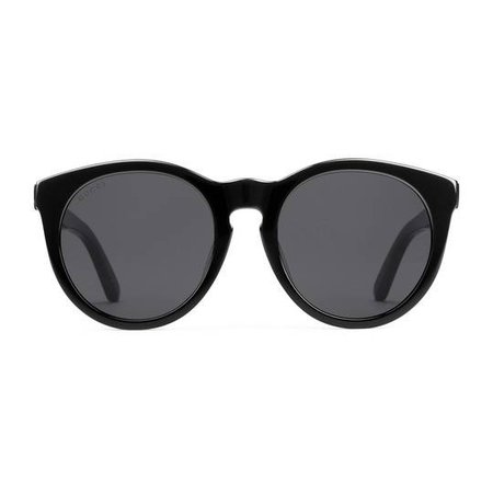 Round-frame acetate sunglasses - Gucci Women's Round & Oval 519576J00701114