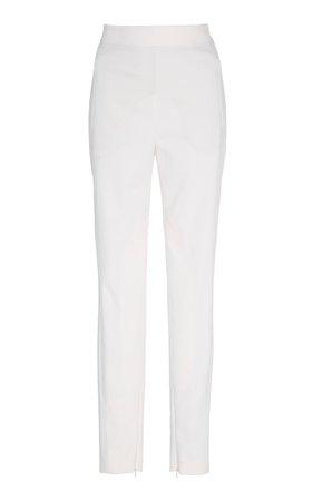 Akris Ducheese Knit High-Waist Pants