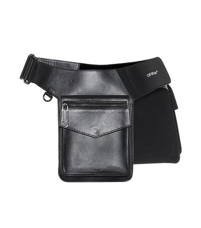 Pocket Leather Belt Bag - Off-White   Mytheresa