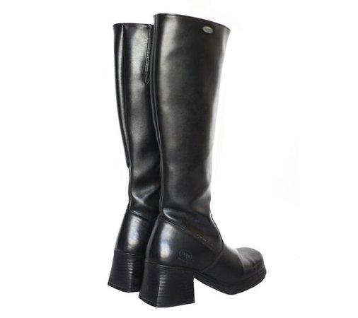 90s VINTAGE CHUNKY DOCKERS platform boots / 90's / Club | Etsy