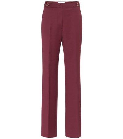 Vesta Stretch-Wool Straight Pants | Gabriela Hearst - Mytheresa