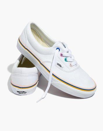 Madewell x Vans® Unisex Era Sneakers with Rainbow Grommets