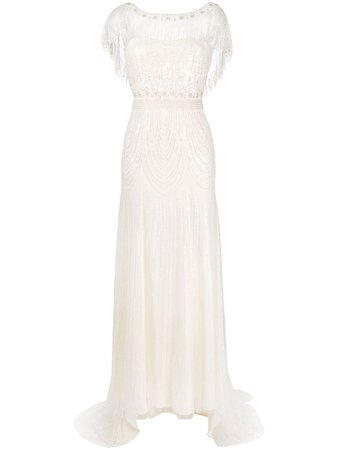 Jenny Packham Dolly tulle-embellished Wedding Gown - Farfetch
