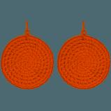 orange earrings - Google Search