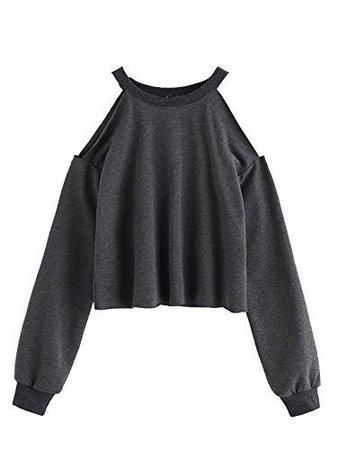 Open Shoulder Top Long Sleeve
