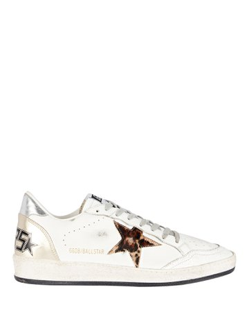 Golden Goose Ball Star Leather Sneakers | INTERMIX®