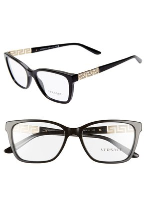 Versace 54mm Optical Glasses   Nordstrom