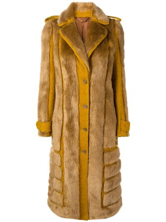 Acne Studios Faux Fur Coat - Farfetch