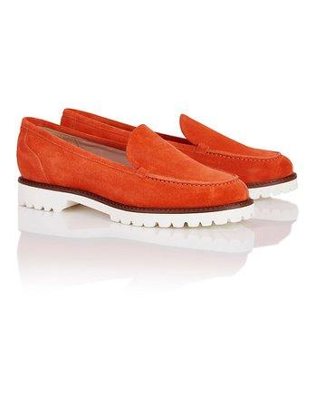 Loafers, orange, orange | MADELEINE Fashion