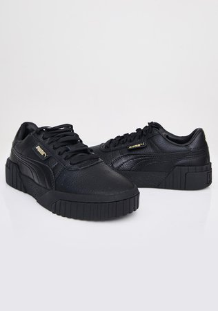 PUMA Black Cali Sneakers | Dolls Kill