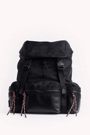 Downtown Nylon Backpack