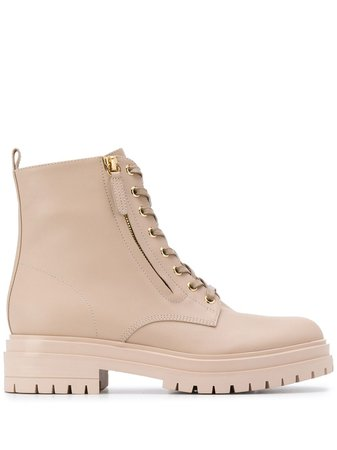 Gianvito Rossi lace-up Combat Boots - Farfetch
