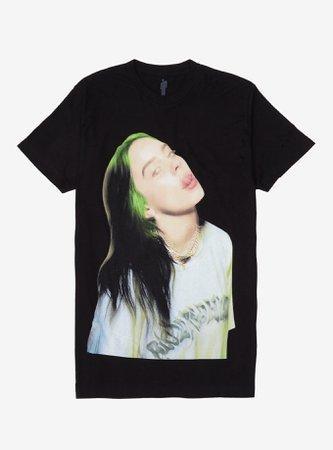Billie Eilish Tongue Out T-Shirt