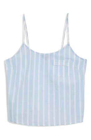 Topshop Stripe Camisole Pajama Top   Nordstrom