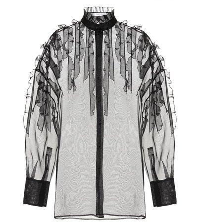 vantino sheer blouse - Cerca con Google