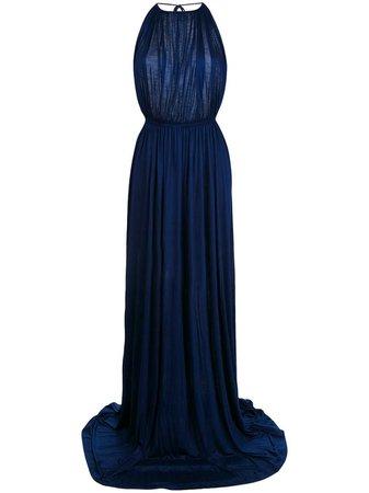 Dsquared2 Halterneck Evening Gown - Farfetch