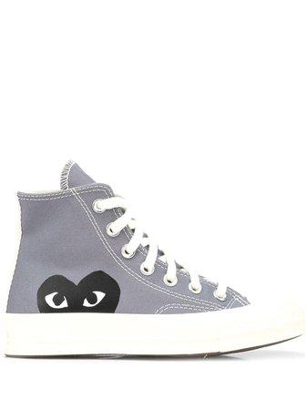 Comme Des Garçons Play x Converse Chuck Taylor '70 high-top Sneakers - Farfetch