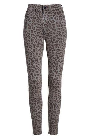 Good American Good Legs Skinny Jeans (Grey Leopard) (Regular & Plus Size) | Nordstrom