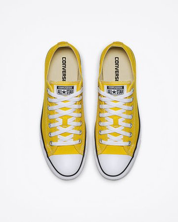 Chuck Taylor All Star Lemon Chrome Low Top Shoe