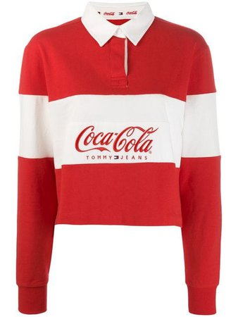 Tommy Jeans Tommy Jeans x Coca Cola Polo Shirt - Farfetch