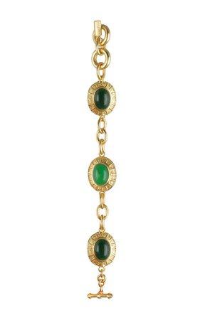Gold-Plated Willow Jade Bracelet By Valére | Moda Operandi