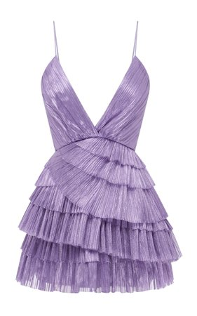 Don't Be Shy Pleated Shell Dress by Alice McCall   Moda Operandi