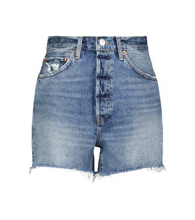 Re/Done - 50s Cutoffs denim shorts   Mytheresa