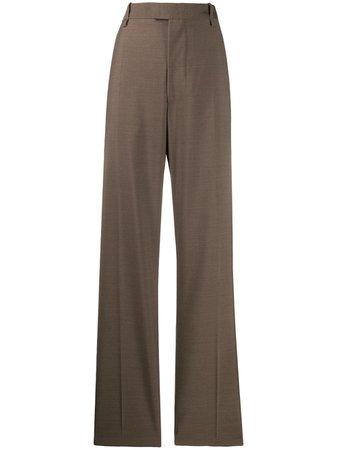 Shop Bottega Veneta high waisted tailored trousers with Express Delivery - FARFETCH