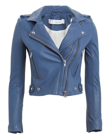 IRO   Dylan Leather Moto Jacket   INTERMIX®