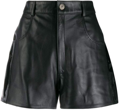 Manokhi textured shorts