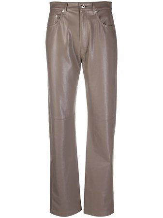 Nanushka Vinni straight-leg Trousers - Farfetch