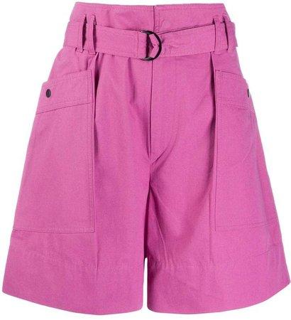 Zayna high-waisted shorts
