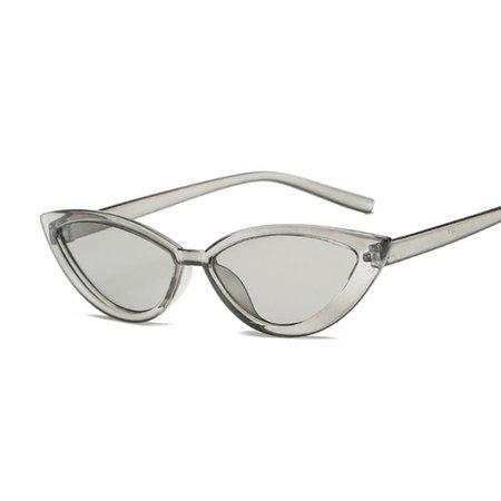 Candy Colors Sunglasses For Women Cat Eye Sun Glasses Brand Designer Fashion Female Eyewear Cool UV400 Gafas De Sol|Women's Sunglasses| - AliExpress