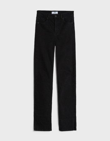 Skinny jeans with vents - Woman | Bershka