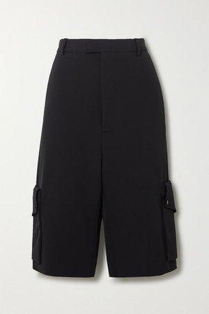 Stretch-twill Shorts - Black