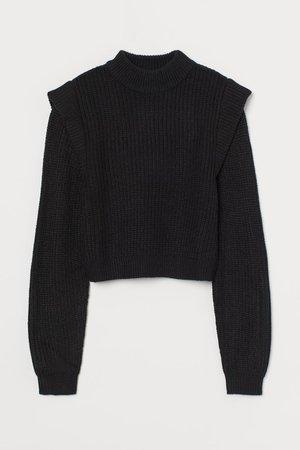 Knit Sweater - Black - Ladies | H&M US
