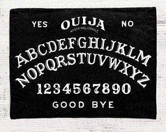Goth blanket | Etsy
