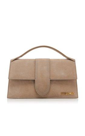Le Grand Bambino Suede Top Handle Bag by Jacquemus | Moda Operandi
