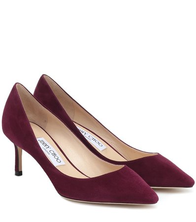Jimmy Choo - Romy 60 suede pumps | Mytheresa