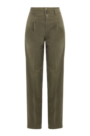 Stretch Cotton High-Waisted Chinos Gr. 29