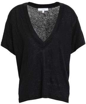Linen-jersey T-shirt