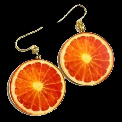 citrus earrings