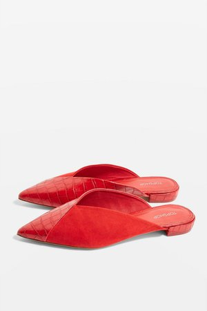 Alice Pointed Mules - Topshop