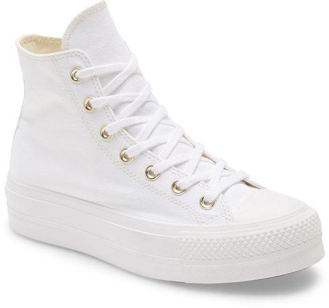 Chuck Taylor(R) All Star(R) Lift High Top Platform Sneaker