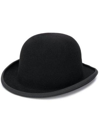 Black AMI curved peak hat - Farfetch