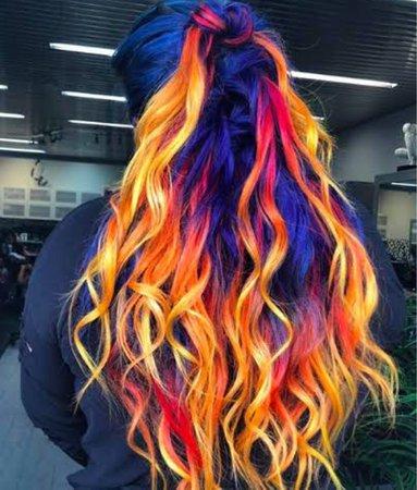 Phoenix Fire Hair